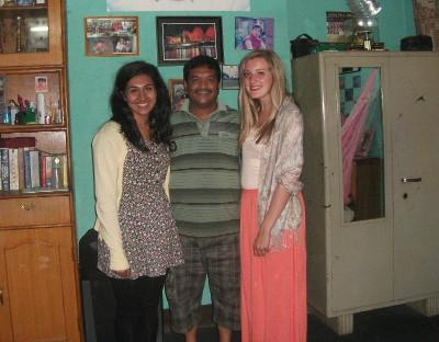 Volunteer host family Nepal