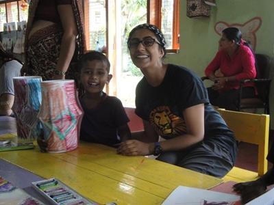 My project in Sri Lanka