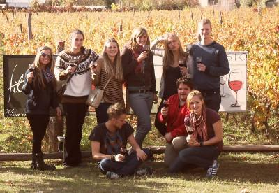 Volunteer wine tasting trip in Argentina