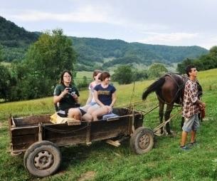 Enjoying the countryside