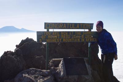 Reaching the top of Mount Meru