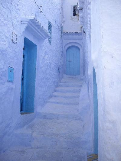 Alleyways of Chefchaouen