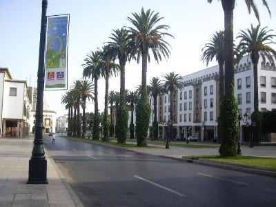 Streets in Rabat