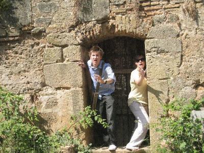 Visiting historic Chellah