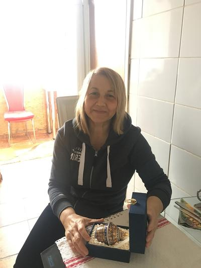 A host mother for our volunteer projects in Romania