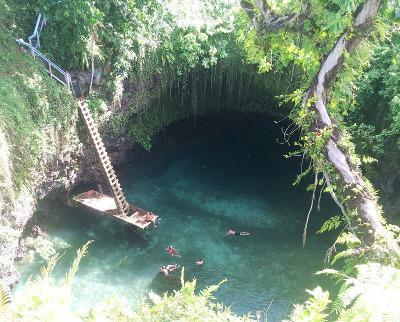 Free time in Samoa