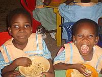 Hungry children!