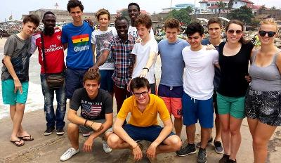 Accra Weekend trip with volunteers