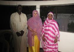 Senegal host family