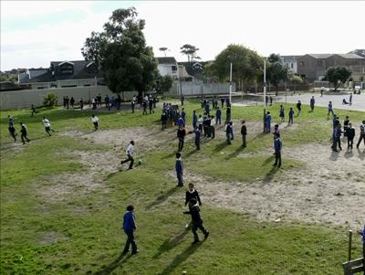 Hyde Park Primary playing field