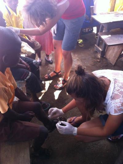 Ghana outreach work
