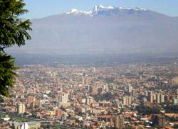 View over La Paz