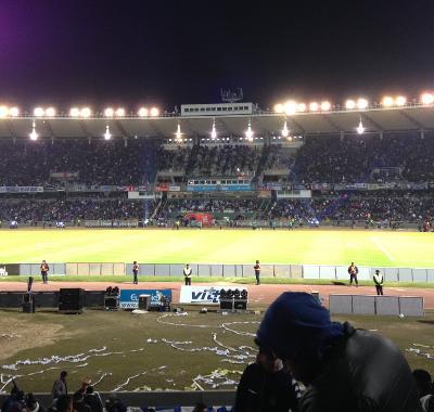 Soccer match in Argentina