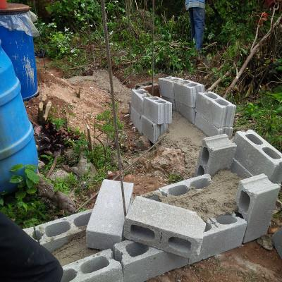 Building project in Jamaica