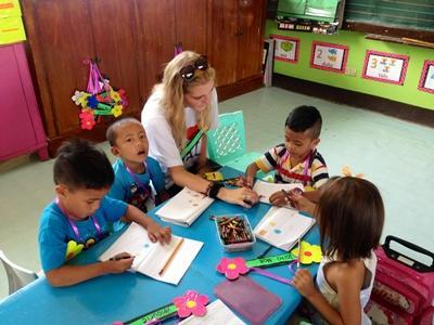 Volunteering abroad