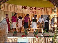 The play on English Day