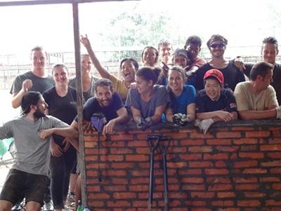 Building volunteers