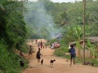 Abrafo village