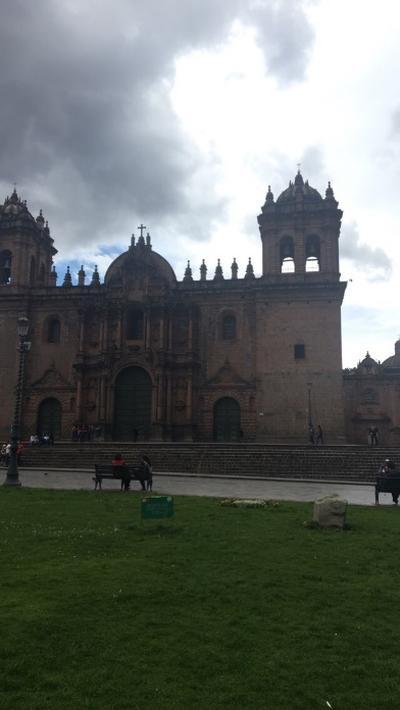 A cathedral in Peru
