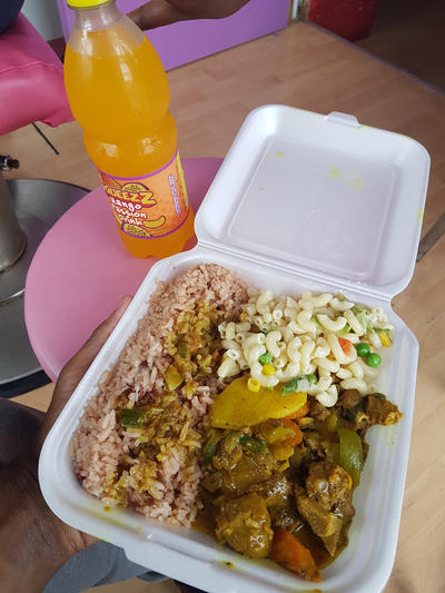 Some local food in Jamaica