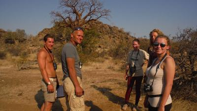 Conservation project in Botswana