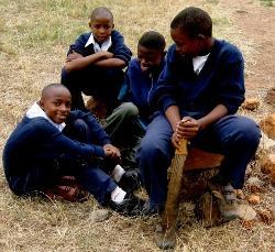 Children at Laiktu School