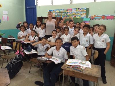 My class in Costa Rica