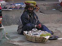 Street market trader