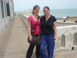 At Cape Coast castle