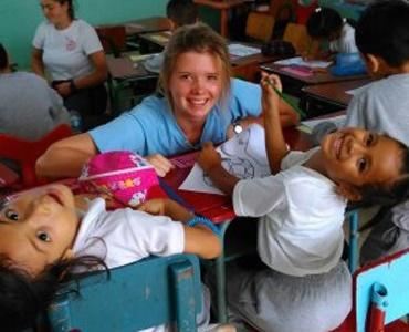 Ecuador volunteer in a Care Placement
