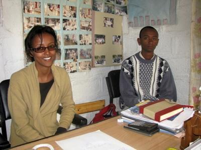 Ethiopian colleagues
