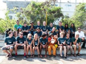 Projects Abroad volunteers in Ecuador