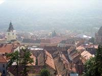 Beautiful View Of Brasov