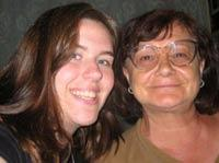 Me and my host Mum