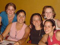 Rhoda, Betsy, Marta, Aubrey and me the orphanage girls