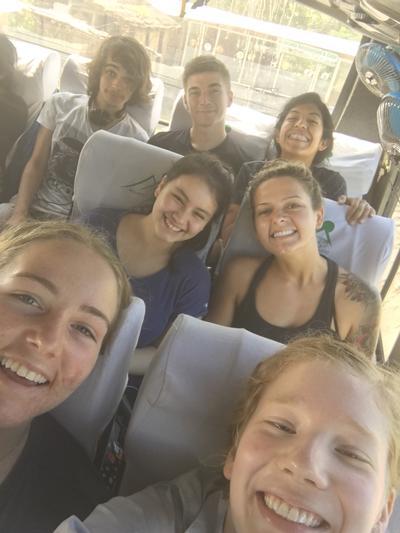 Volunteers exploring Nepal during their free time