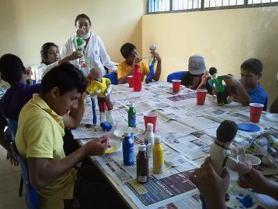 Care project in Mexico