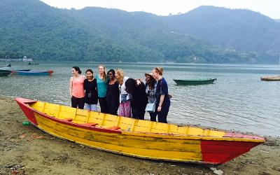 Volunteers in Pokhara