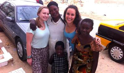Meeting the locals in Senegal