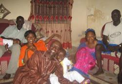 Senegal host family