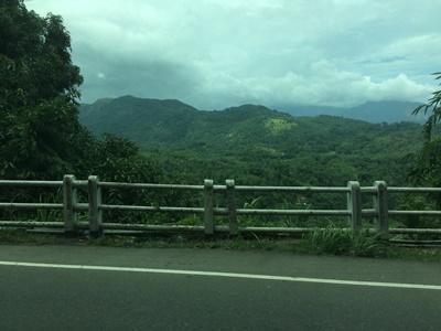 Mountain view in Sri Lanka