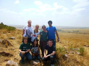 Traveling in Kenya