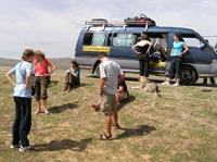 Travel in mongolian style