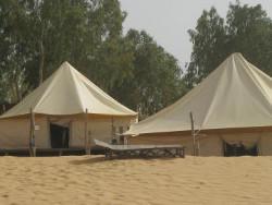 Desert camp Senegal