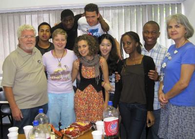 Staff and volunteers