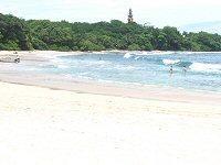 Beach on pacific coast