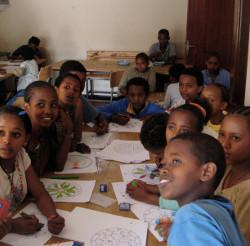 Voluntary care project in Ethiopia