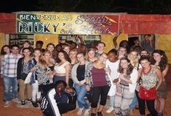 Grupo de voluntarios de Projects Abroad en Jamaica