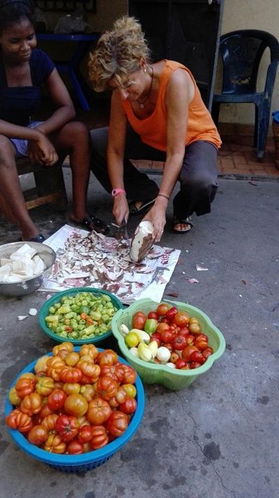 Historia Voluntaria en Togo con Familia Hospedera