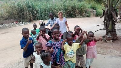 Historia Voluntariado con niños en Togo
